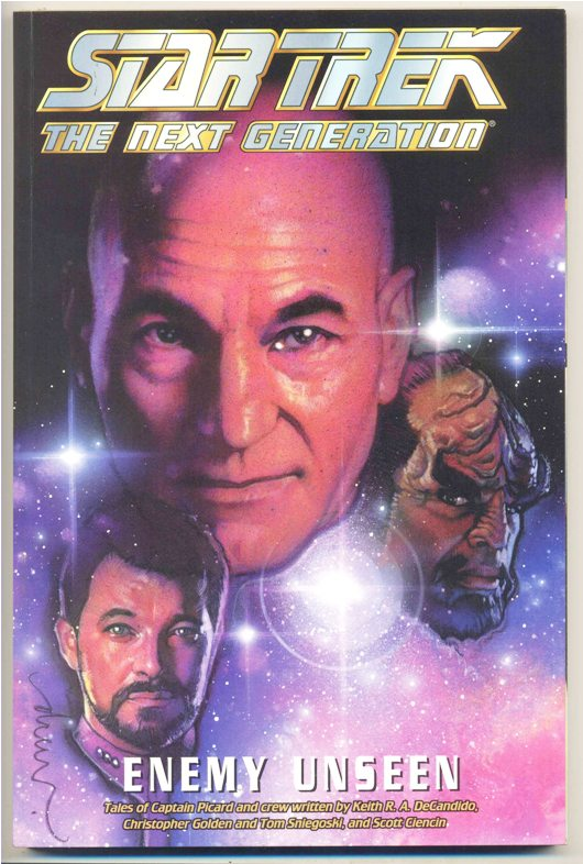 STAR TREK - THE NEXT GENERATION - ENEMY UNSEEN TP - IMPORTADA